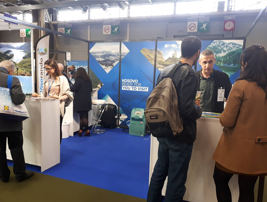Kosovo tourism is being promoted in Paris